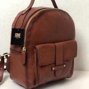 Frye Boots Leather Olivia Backpack Shoulder Bag